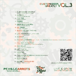 Casey Veggies Customized Greatly Vol. 3 Back Cover