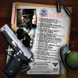 DJ Whoo Kid, Ca$his & Young De Homeland Security Back Cover