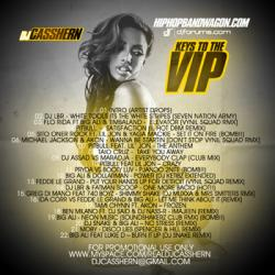 DJ Casshern Keys To The VIP Back Cover