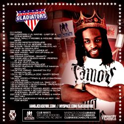 DJ Cease Fire American Gladiator Back Cover