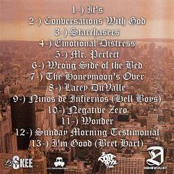 DJ Skee & Charles Hamilton It's Charles Hamilton Back Cover