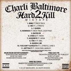 Charli Baltimore Hard 2 Kill Back Cover