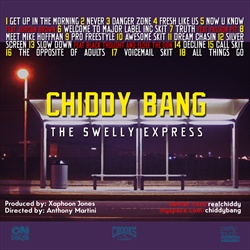 Chiddy Bang The Swelly Express Back Cover