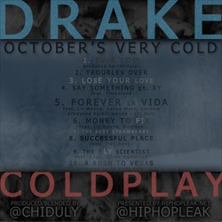 Chi Duly & Drake October's Very Cold Back Cover