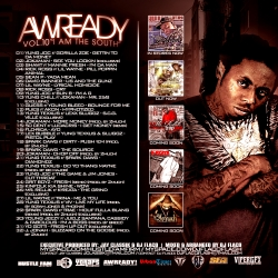 Jay Classik & DJ Flaco Awready Vol. 10 Back Cover