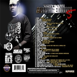 Jay Classik & Hustle Squad DJs Dirty South Armageddon Vol. 5 Back Cover
