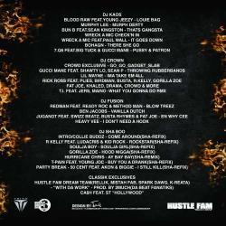 Jay Classik Mixtape Madness Vol. 11 Back Cover