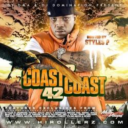 DJ DMA & DJ Domination Coast 2 Coast Mixtapes Vol. 42 Front Cover