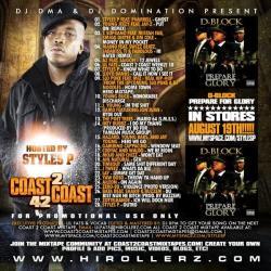 DJ DMA & DJ Domination Coast 2 Coast Mixtapes Vol. 42 Back Cover