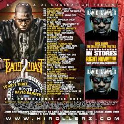 DJ DMA & DJ Domination Coast 2 Coast Mixtapes Vol. 43 Back Cover