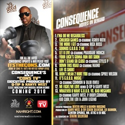 Consequence Movies On Demand Back Cover