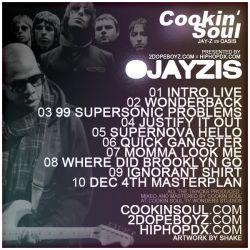 Cookin Soul Ojayzis 'Jay-Z Vs. Oasis' Back Cover