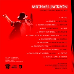 Cookin Soul Tribute To The King Of Pop Back Cover