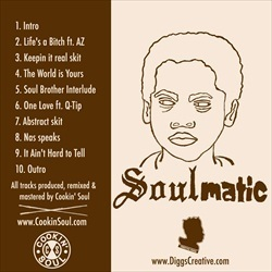 Cookin Soul & Nas Soulmatic Back Cover