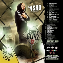 DJ 4Sho & Cory Gunz Beast From The East Front Cover
