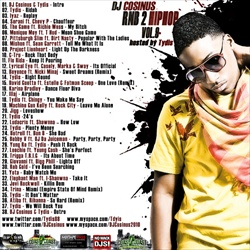DJ Cosinus RnB 2 Hip-Hop Vol. 9 Back Cover