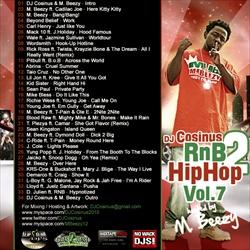DJ Cosinus RnB 2 Hip-Hop Vol. 7 Back Cover