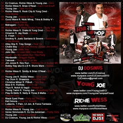 DJ Cosinus RnB 2 Hip-Hop Vol. 10 Back Cover