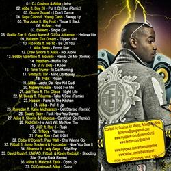 DJ Cosinus RNB 2 Hip-Hop Vol. 4 Back Cover
