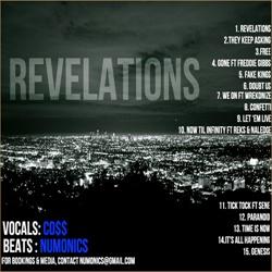 Co$$ & Numonics Revelations Back Cover