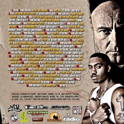 DJ Crazy Chris Phillmatic 'Phil Collins Vs. Nas' Back Cover