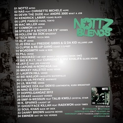 DJ Critical Hype Nottz Blends Back Cover