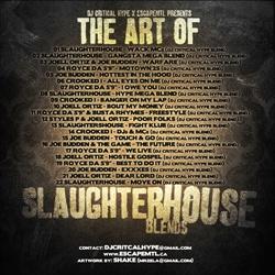 DJ Critical Hype & EscapeMTL The Art of Slaughterhouse Blends Back Cover
