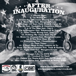 Crooked I After Inauguration Back Cover