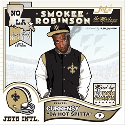 Curren$y & DJ Don Cannon Smokey Robinson Front Cover