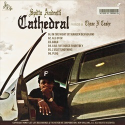 Curren$y Cathedral EP Back Cover