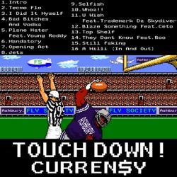 Curren$y Super Tecmo Bowl Back Cover