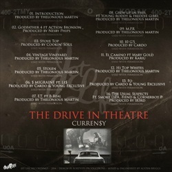 Curren$y The Drive In Theatre Back Cover
