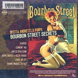 Curren$y & Purps Bourbon Street Secrets EP Back Cover