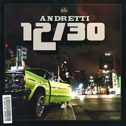 Curren$y Andretti 12/30 Front Cover