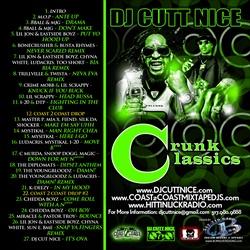 DJ Cutt Nice Crunk Classics Back Cover