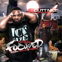 DJ Cutt Nice Focused From Coast 2 Coast Front Cover
