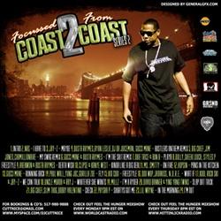 DJ Cutt Nice Focused From Coast 2 Coast Series 2 Back Cover
