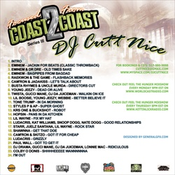 DJ Cutt Nice Focused From Coast 2 Coast Series 3 Back Cover