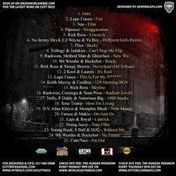 DJ Cutt Nice Focused From Coast 2 Coast Vol. 5 Back Cover