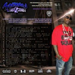 DJ Cutt Nice Focused From Coast 2 Coast Vol. 4 Back Cover