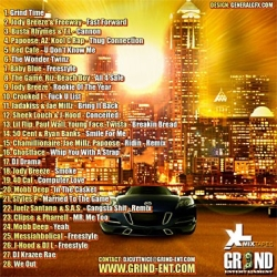 DJ Cutt Nice Grind Time Back Cover