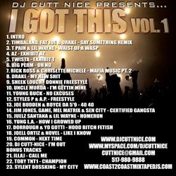 DJ Cutt Nice I Got This Vol. 1 Back Cover