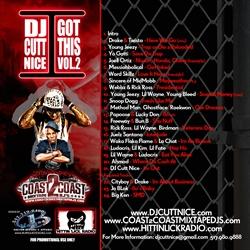 DJ Cutt Nice I Got This Vol. 2 Back Cover