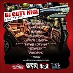 DJ Cutt Nice I Got This Vol. 7 Back Cover
