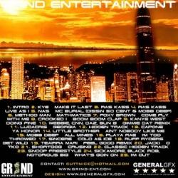 DJ Cutt Nice Rep Metromixx Pt. 1 Back Cover