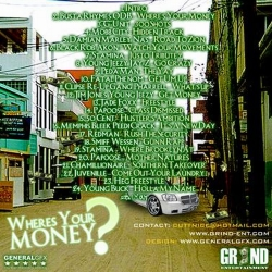 DJ Cutt Nice Where's Your Money Back Cover