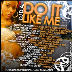 DJ D.A. Do It Like Me Back Cover