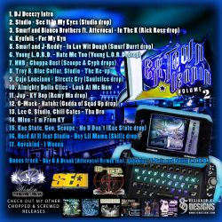 Attevocai LexTown Leanin' 2 (SCREWED & CHOPPED) Back Cover