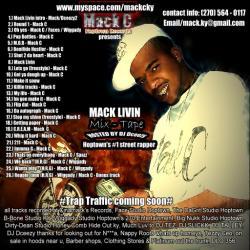 Mack C Mack Livin Back Cover