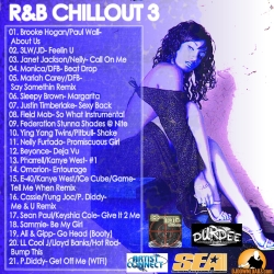 DJ DCeezy R&B Chillout 3 Back Cover